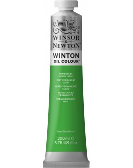 W&N Winton Oil Colour - Permanent Green Light (483)