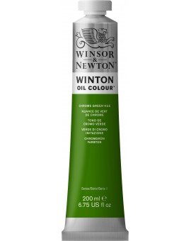 W&N Winton Oil Colour - Chrome Green Hue (145)