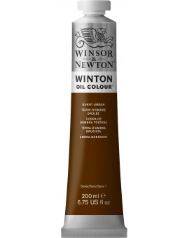 W&N Winton Oil Colour - Burnt Umber (076)
