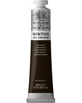 W&N Winton Oil Colour - Ivory Black (331)