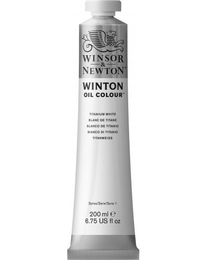 W&N Winton Oil Colour - Titanium White tube 200ml