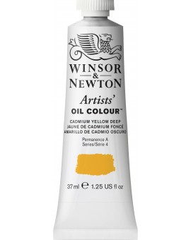 W&N Artists' Oil Colour - Cadmium Yellow Deep (111)