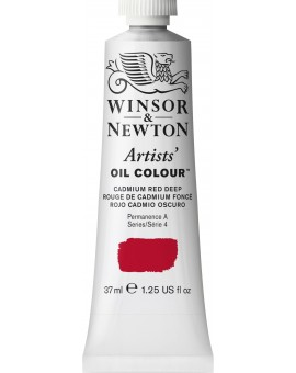 W&N Artists' Oil Colour - Cadmium Red Deep (097)