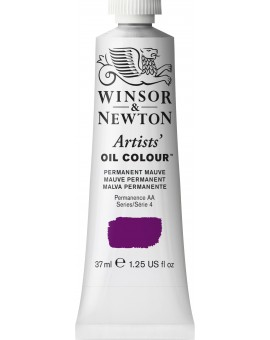 W&N Artists' Oil Colour - Permanent Mauve (491)
