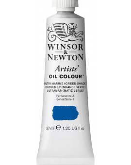 W&N Artists' Oil Colour - Ultramarine (Green Shade) (667)