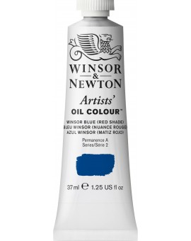 W&N Artists' Oil Colour - Winsor Blue (Red Shade) (706)