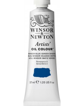W&N Artists' Oil Colour - Winsor Blue (Green Shade) (707)