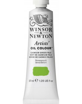 W&N Artists' Oil Colour - Cadmium Green Pale (084)