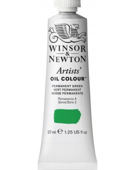 W&N Artists' Oil Colour - Permanent Green (481)