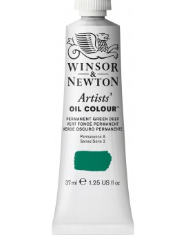 W&N Artists' Oil Colour - Permanent Green Deep (482)