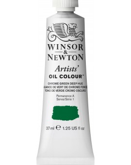 W&N Artists' Oil Colour - Chrome Green Deep Hue (147)