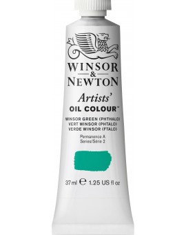 W&N Artists' Oil Colour - Winsor Green (Phtalo) (720)