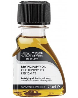 W&N Drying Poppy Oil - 75ml