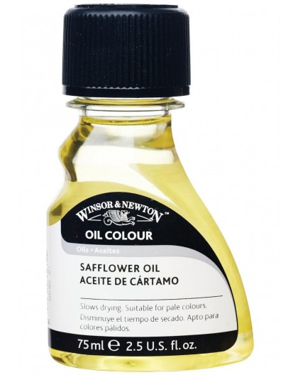 W&N Safflower Oil - 75ml