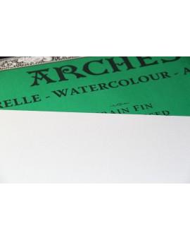 Arches aquarelblok Grain Fin - 4 zijdig gelijmd