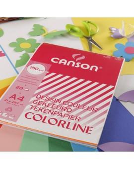 Canson Colorline - blok gekleurd tekenpapier