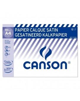 Canson kalkpapier 90-95gr - pochet 12 vellen
