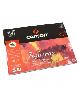 Canson Figueras 290gr - olie/acrylverfblok
