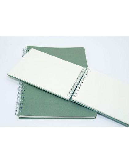 Seawhite Eco schetsboek - spiraal aan de korte zijde