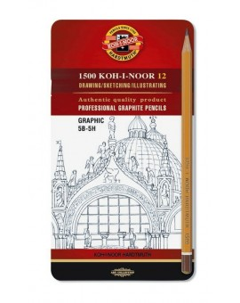 Koh-I-Noor - Graphic set (5H-5B)