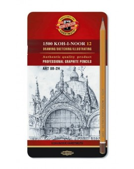 Koh-I-Noor - Art set (2H-8B)