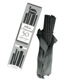 Coates houtskool 30 Assorted Short Sticks