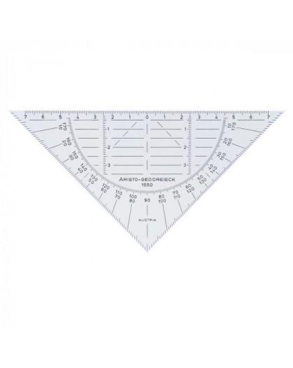 Aristo flexibele geodriehoek 16 cm