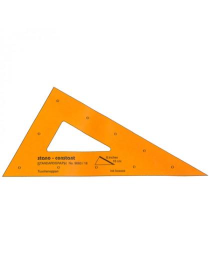 Standardgraph tekendriehoek 30°/60°