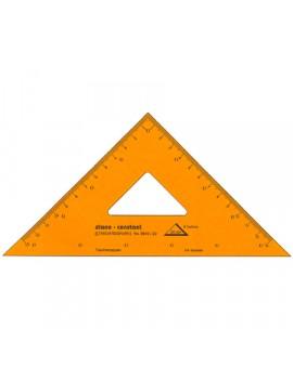 Standardgraph tekendriehoek 45°/45°