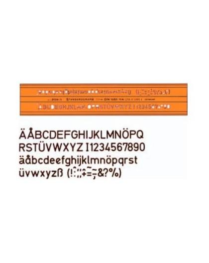 Standardgraph DINnorm lettersjabloon 2024