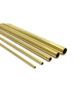 Messing buis rond profiel 3/0.45mm (per 2 stuks)