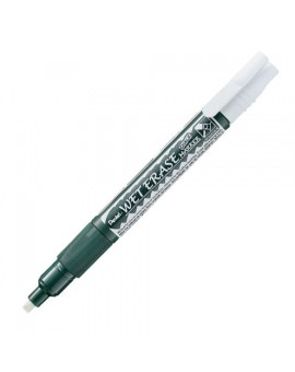 Pentel Wet Erase Chalk Marker - wit