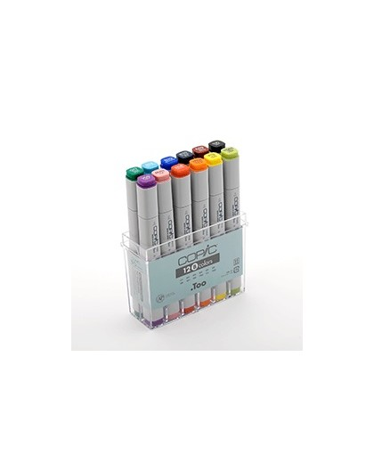 Copic Marker Color - 12 kleuren