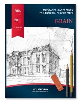 Aurora Grain 200gr - blok A4