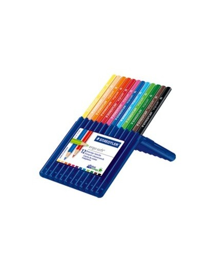 Staedtler Ergosoft - set 12 kleurpotloden