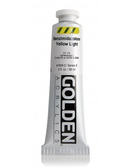 Golden Heavy Body Acrylic - Benzimidazolone Yellow Light #1009