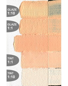 Golden Heavy Body Acrylic - Light Orange #1575