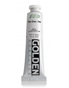 Golden Heavy Body Acrylic - Titan Green Pale #1371
