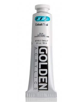 Golden Heavy Body Acrylic - Cobalt Teal #1145