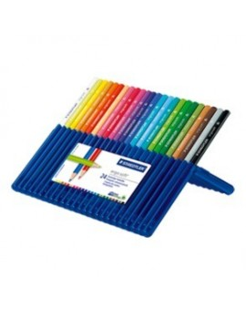 Staedtler Ergosoft - set 24 kleurpotloden