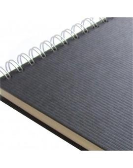 Seawhite of Brighton Euro Sketchbook Microline - spiraal aan de korte zijde