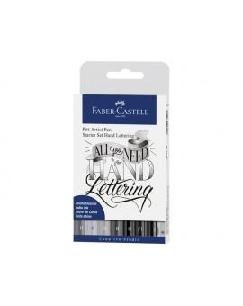 tekenstift Faber-Castell Pitt Artist Pen basisset