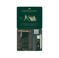grafietset Faber-Castell Pitt 19-delig