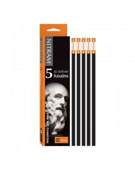 Nitram Fine Art Charcoal Academie HB