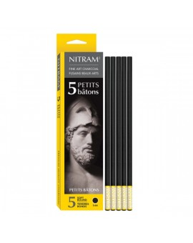 Nitram Fine Art Charcoal Bâtons - 6mm