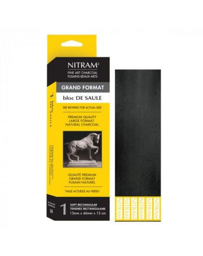 Nitram Fine Art Charcoal - wilgehoutskoolblok