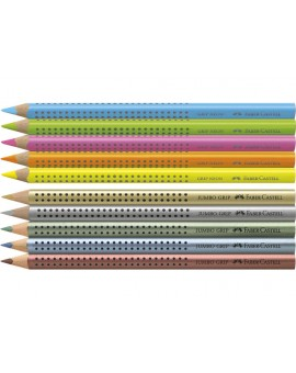 Faber-Castell - kleurpotlood Jumbo GRIP assorti
