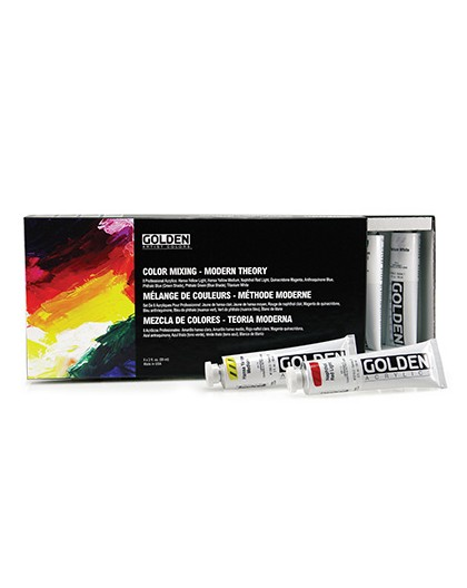Golden Color Mixing Modern Theory - Professional Heavy Body Acrylic