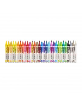 Ecoline Brush Pen set 30 waterverf markers