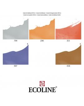 Ecoline set 5 aanvullende kleuren